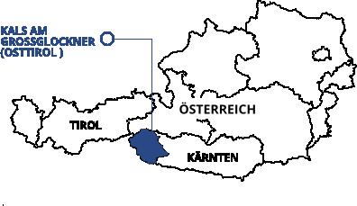 Großglockner Karte.Interaktive Karte Osttirol Kals Am Großglockner Tourismus Websites